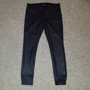 Faux leather pants from express.